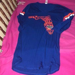 Half sleeve Florida Gators shirt Or sleepwear